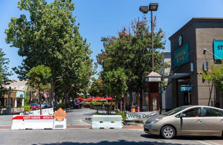 Downtown Menlo Park